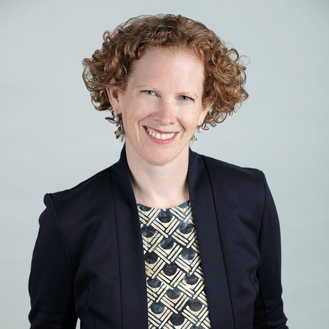 Ontario Caregiver Organization CEO Amy Coupal, smiling portrait