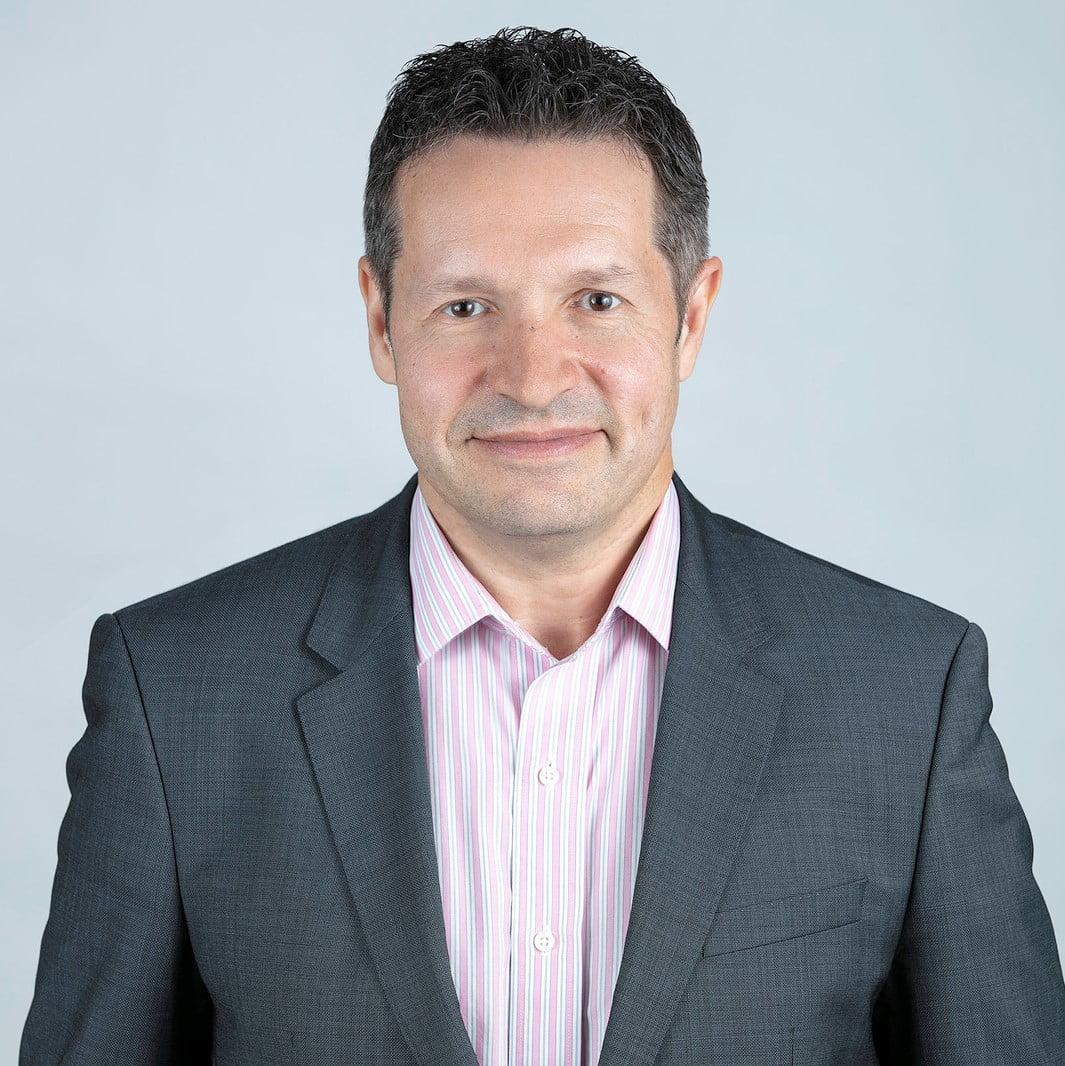 David Mosher, Board member of the Ontario Caregiver Organization, smiling portrait