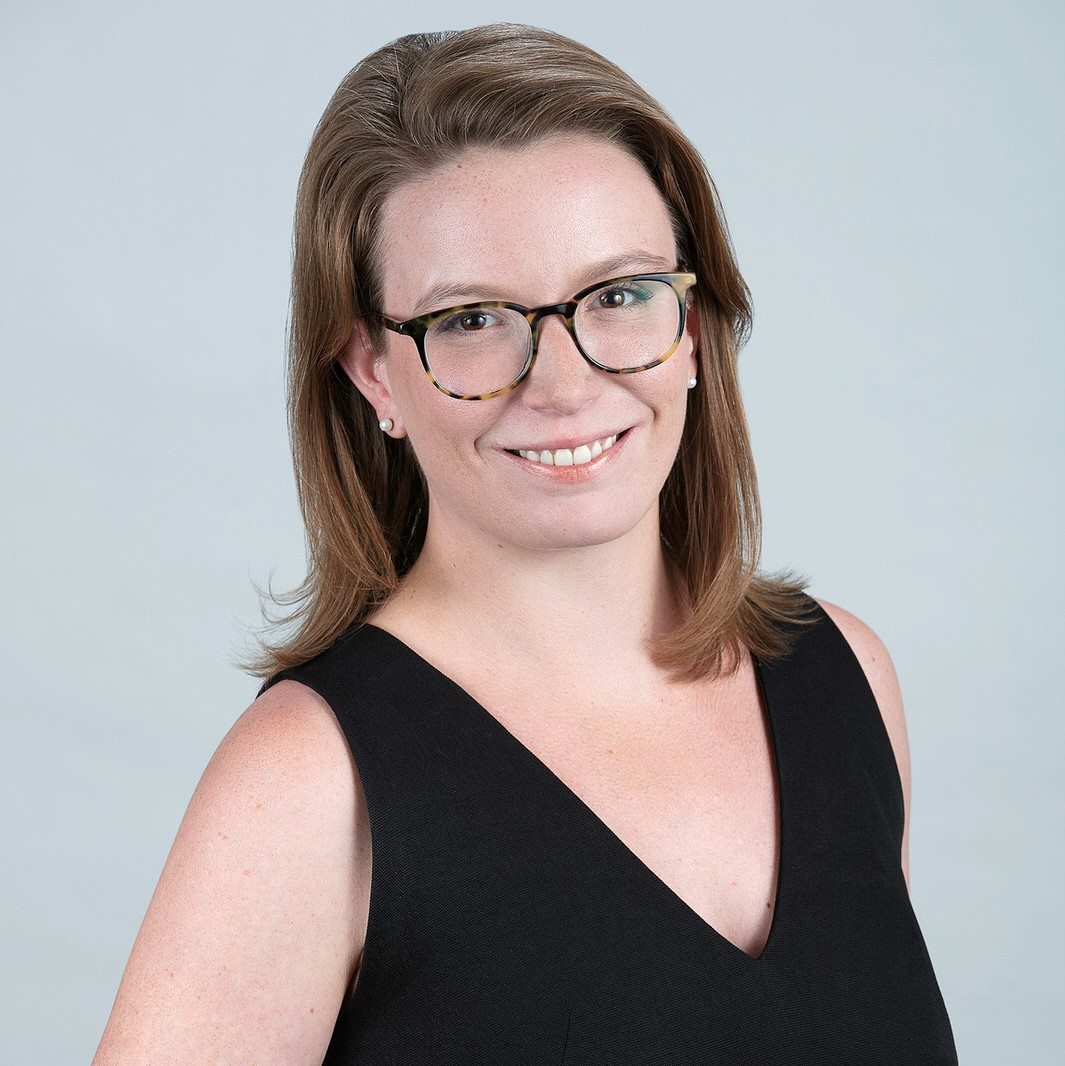 Emma Stainton, Board member of the Ontario Caregiver Organization, smiling portrait