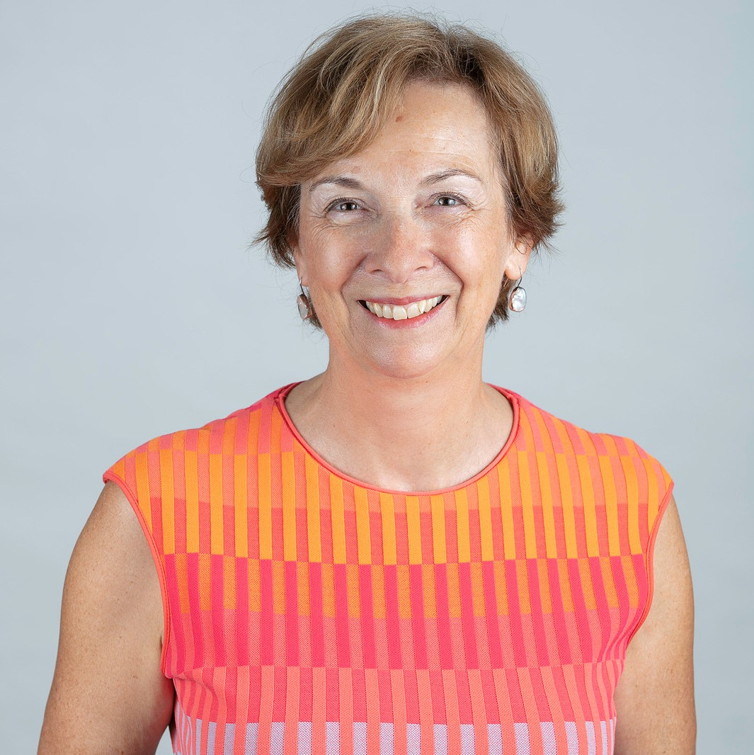 Janet Beed, Board Chair of Ontario Caregiver Organization, smiling portrait