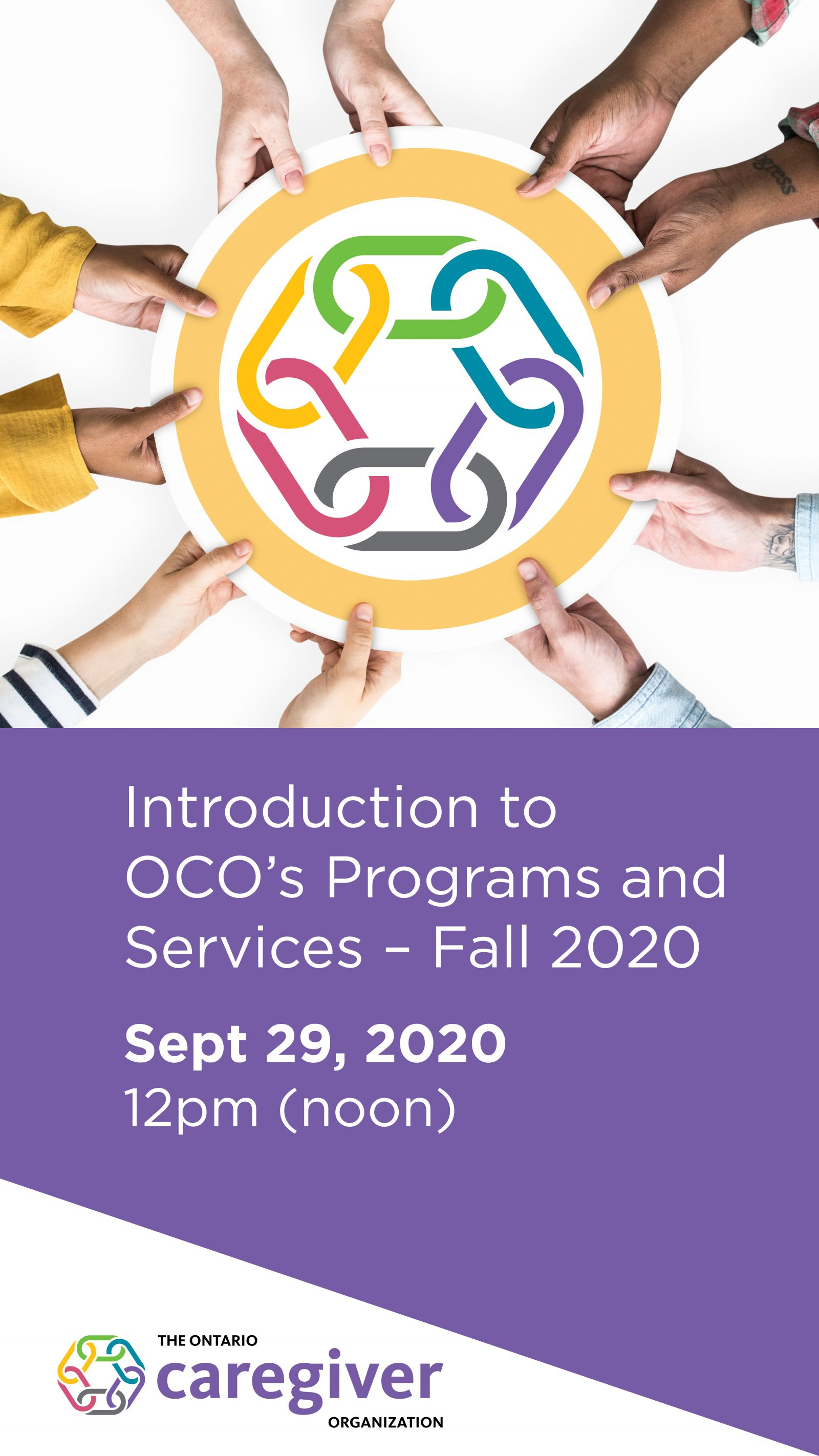 Sept 29th 2020 webinar: Introduction to our Free Programs & Services - mobile